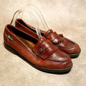 Eastland Womens S09436 Sz 11 M Brown Loafer